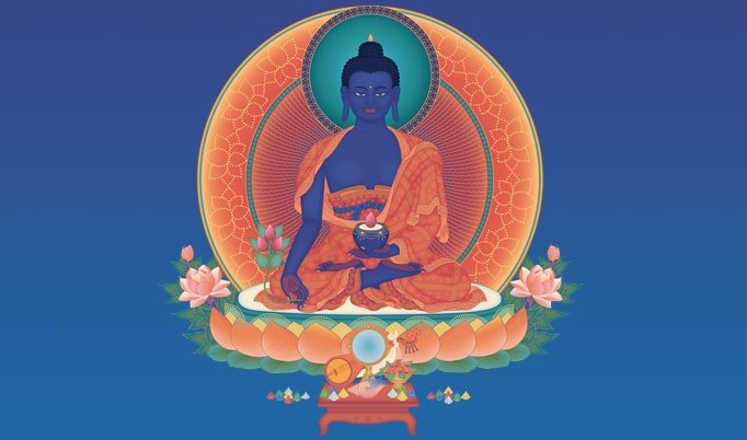 medicine buddha silent yoga retreat