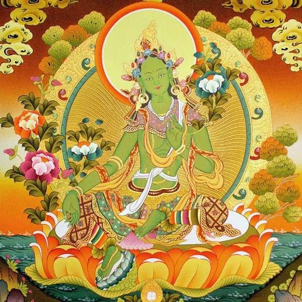buddhist tantra melbourne green tara